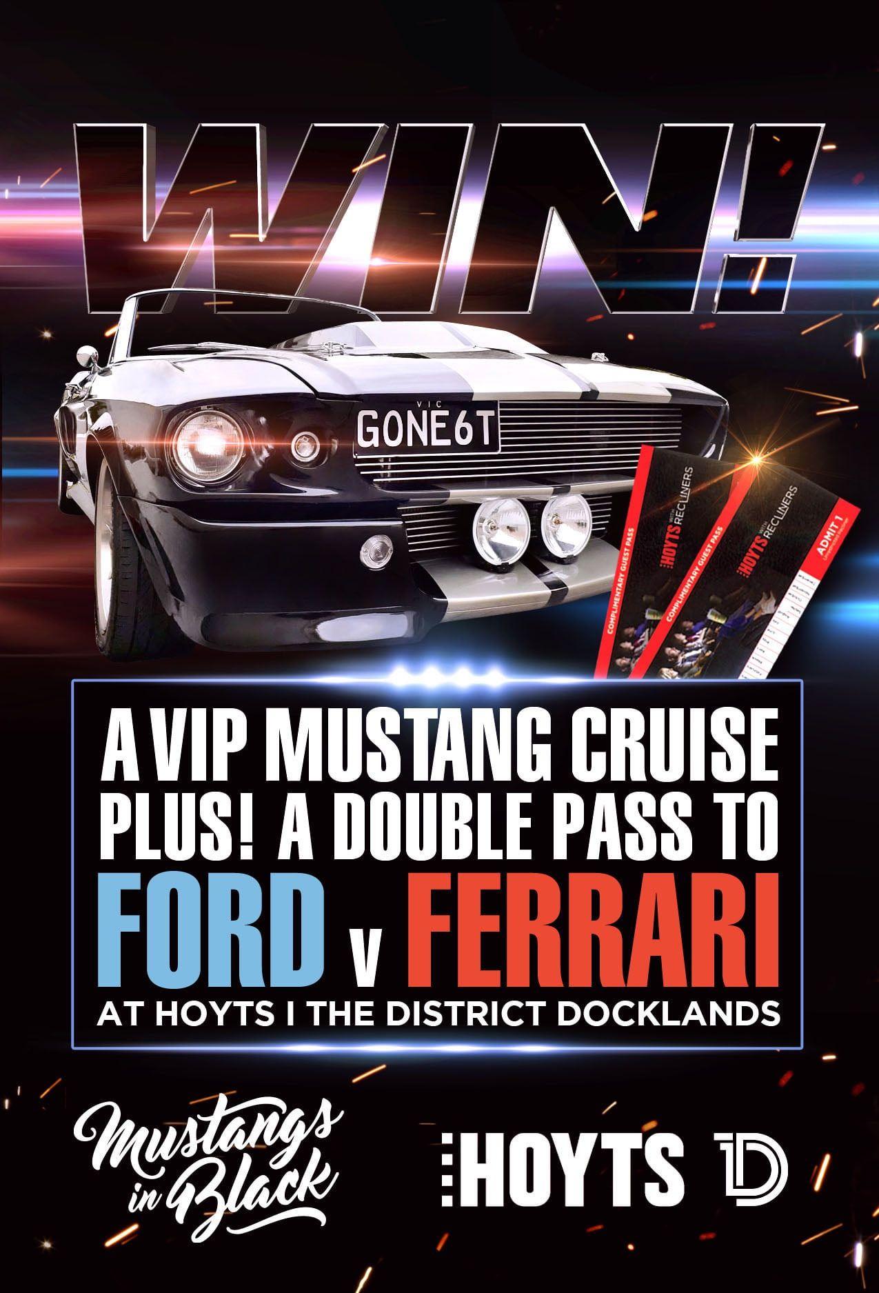 Promotion For Ford V Ferrari Starring Matt Damon Christian Bale