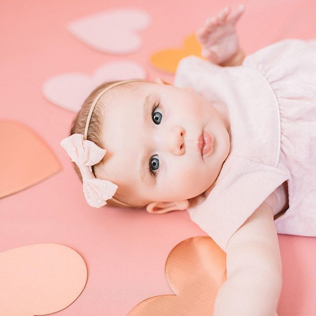 Exactly one year ago today we announced  our forever Valentine. Little did we know that 6 months to that day she was born.  Happy 6 months sweet Gemma Rose! #gemmaeveryday #valentinesday #halfbirthday