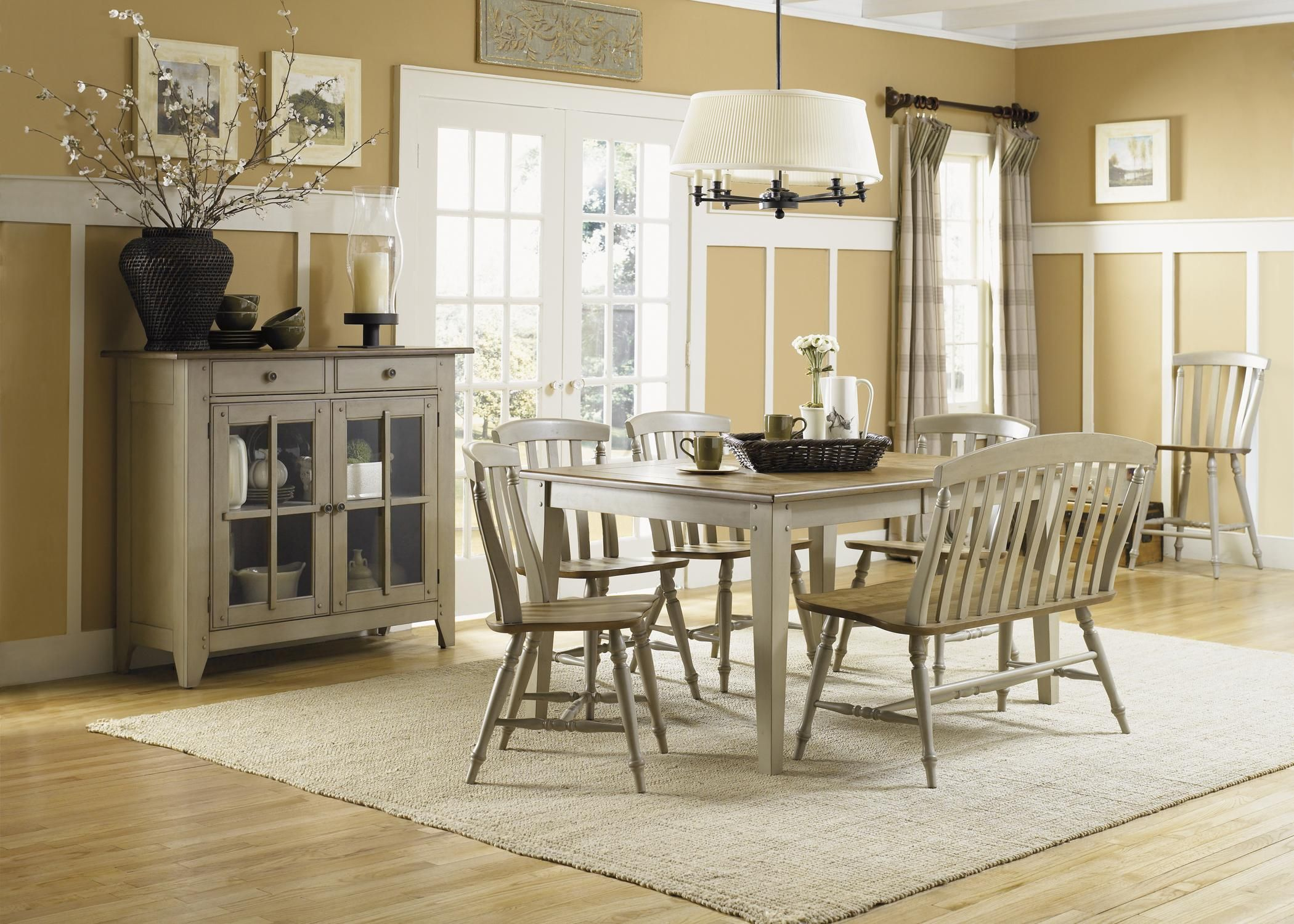 Al fresco dining room group by liberty furniture shore house
