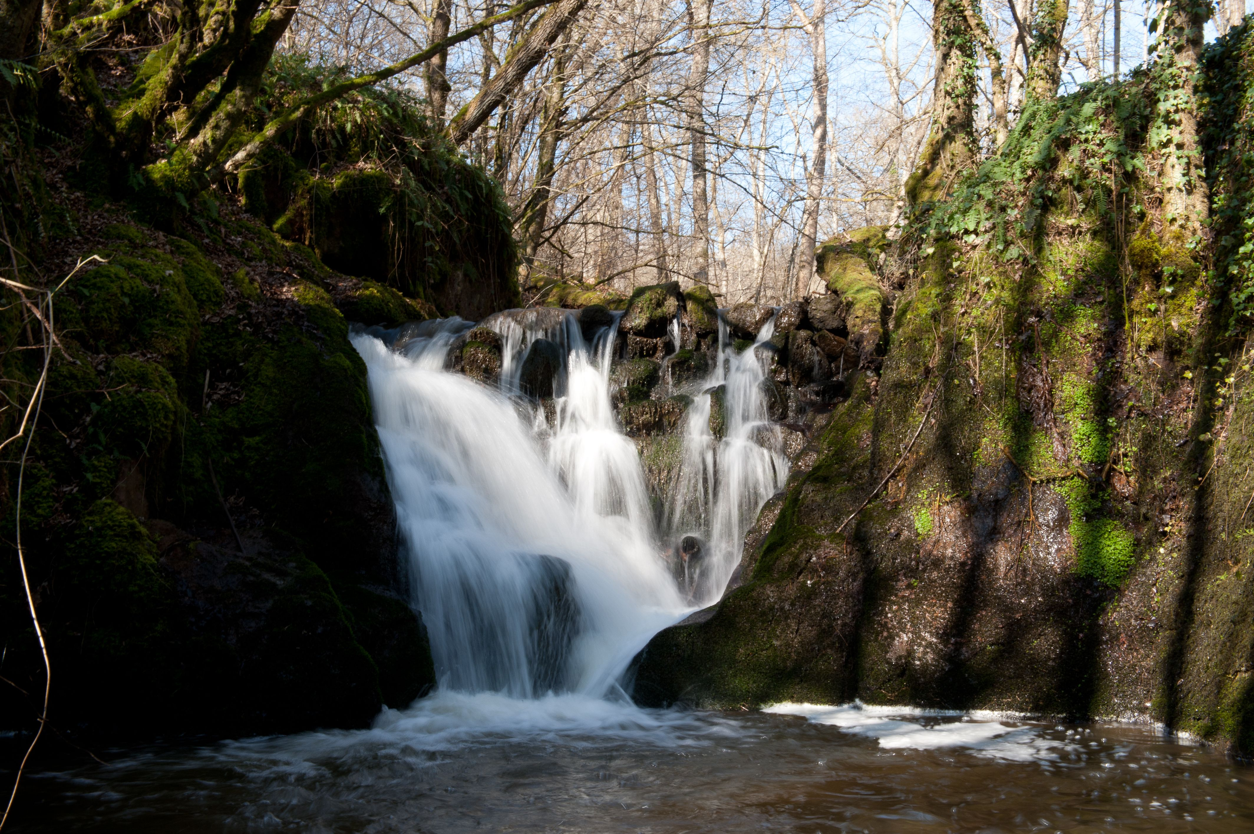 Les cascades de Sail les Bains