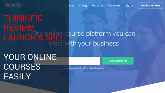 Thinkific Course Creation Software Sell