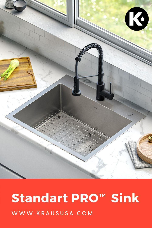 High Value Kitchen And Bathroom Upgrades Kraus Usa Sink Utility Sink Kitchens Bathrooms