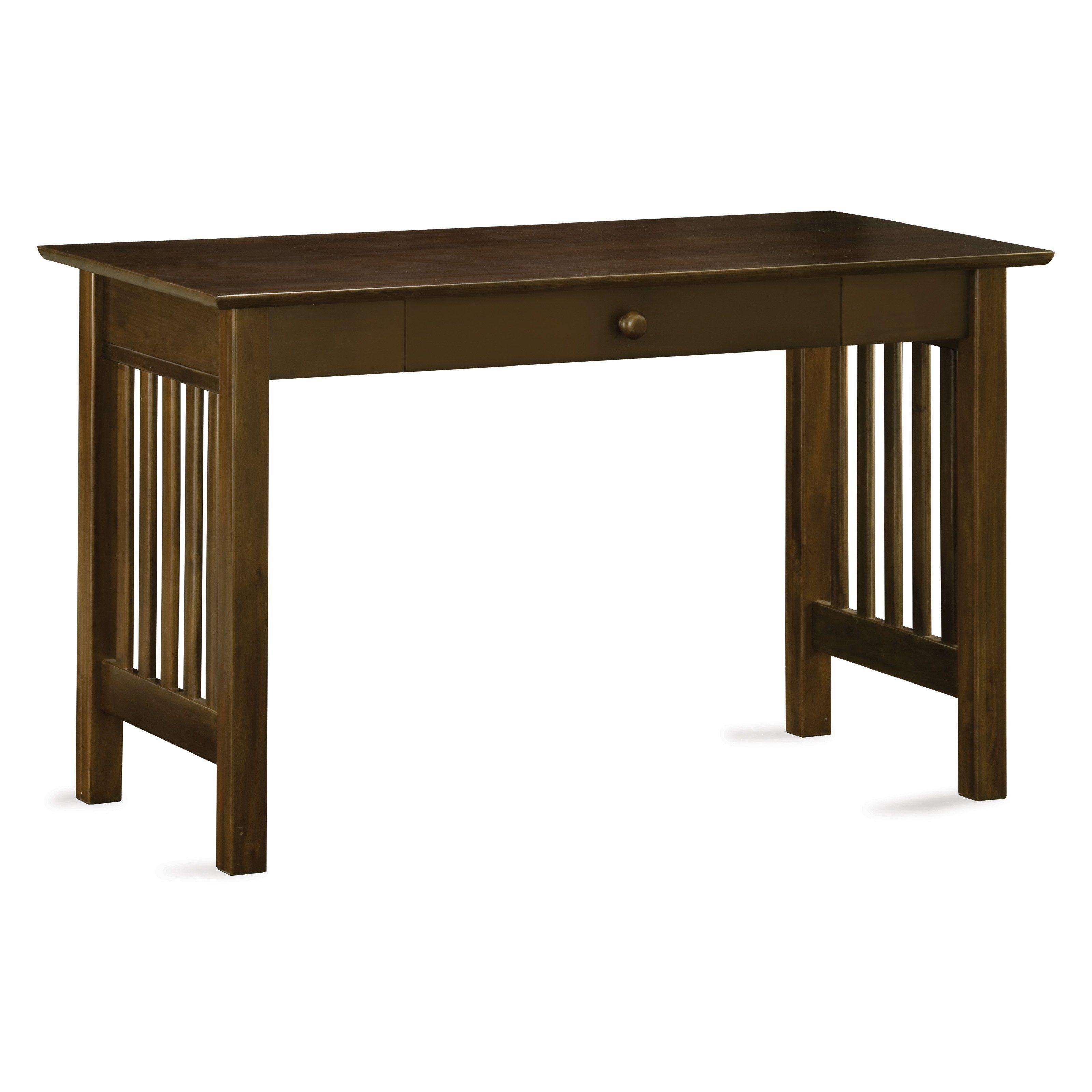 Atlantic Mission Desk With Drawer 262 99 Home Office Desks