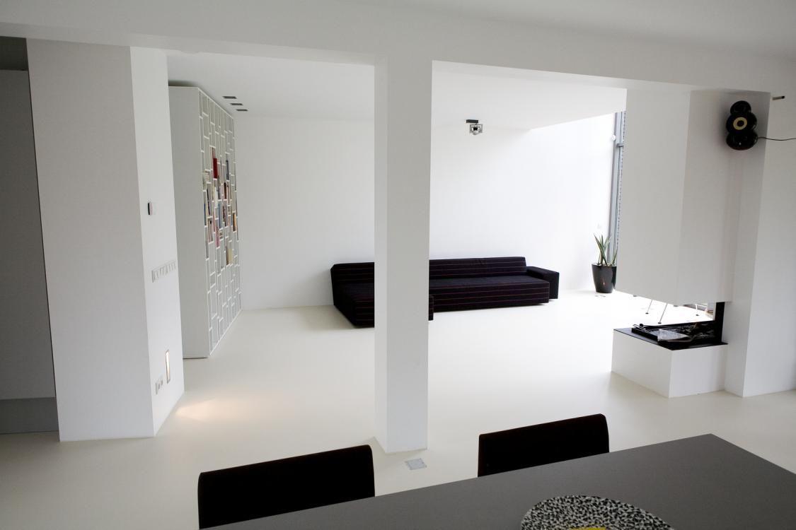 mooie gietvloer interior ï living room pinterest steel