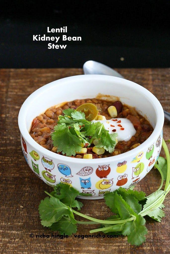 Lentil Kidney Bean Chili 1 Pot Glutenfree