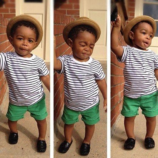 crianças negros estilosos - Pesquisa Google  236b7405016