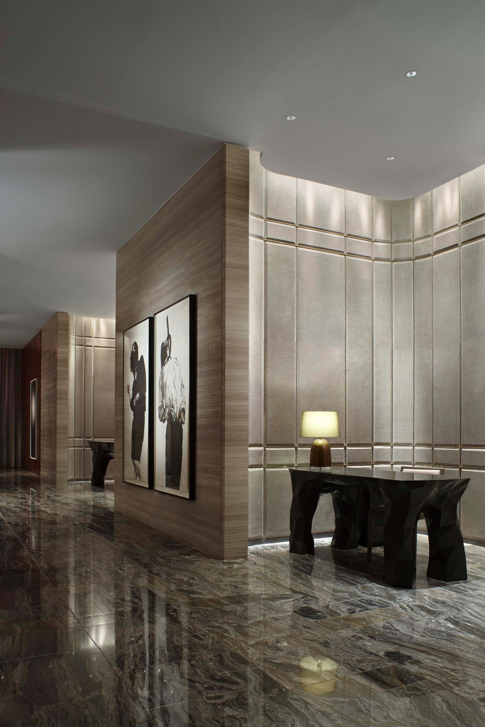 One fluid gesture like stepping back in time trapped - Hotel interior and exterior design ...
