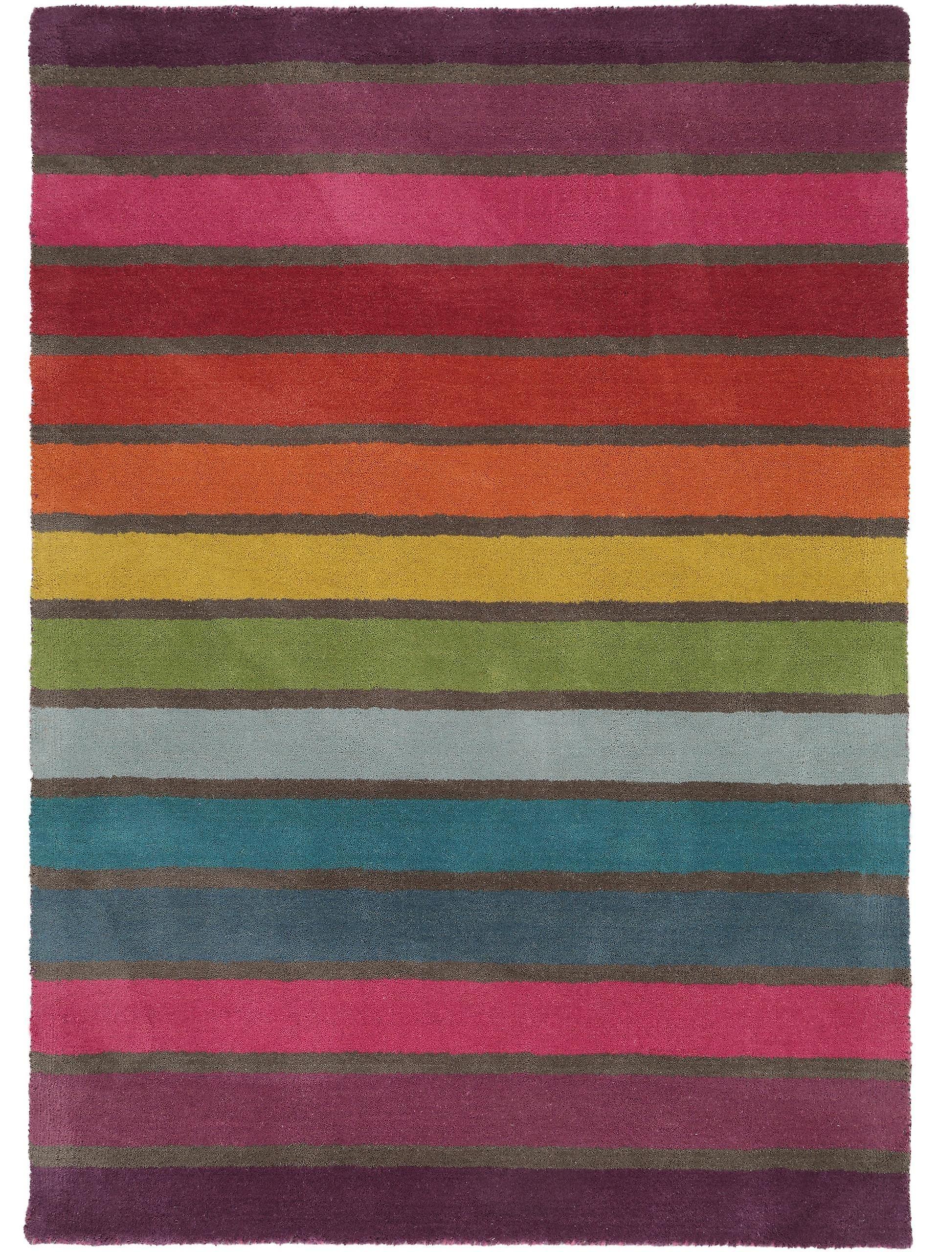 Benuta Wool Rug Rainbow Multicolour