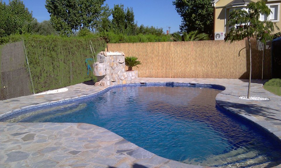 piscinas rusticas peque as buscar con google jardin