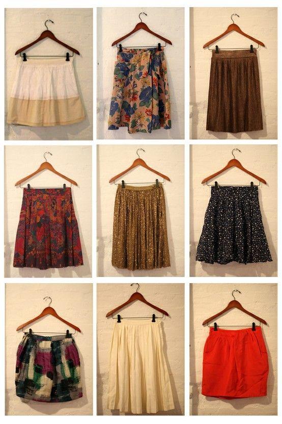 Skirts. Skirts. Skirts.