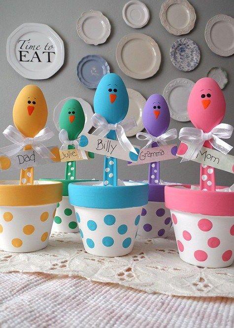 originelle Platzhalter für Ostern