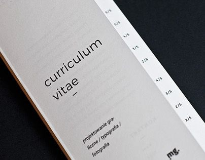 behance u201ccv folder mailer quadu0027fold resume folder - Resume Folder