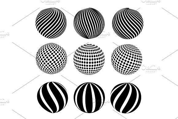 Abstract dotted sphere #globe #abstract Swirl Design Pinterest