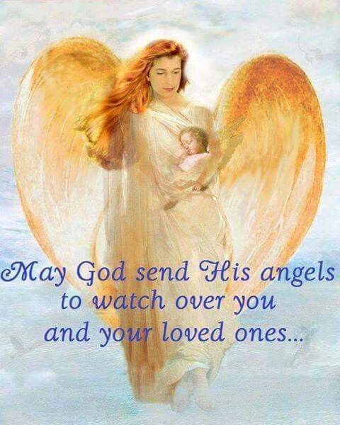 May God Send His Angels To Watch Over You Prayer Angel Prayers