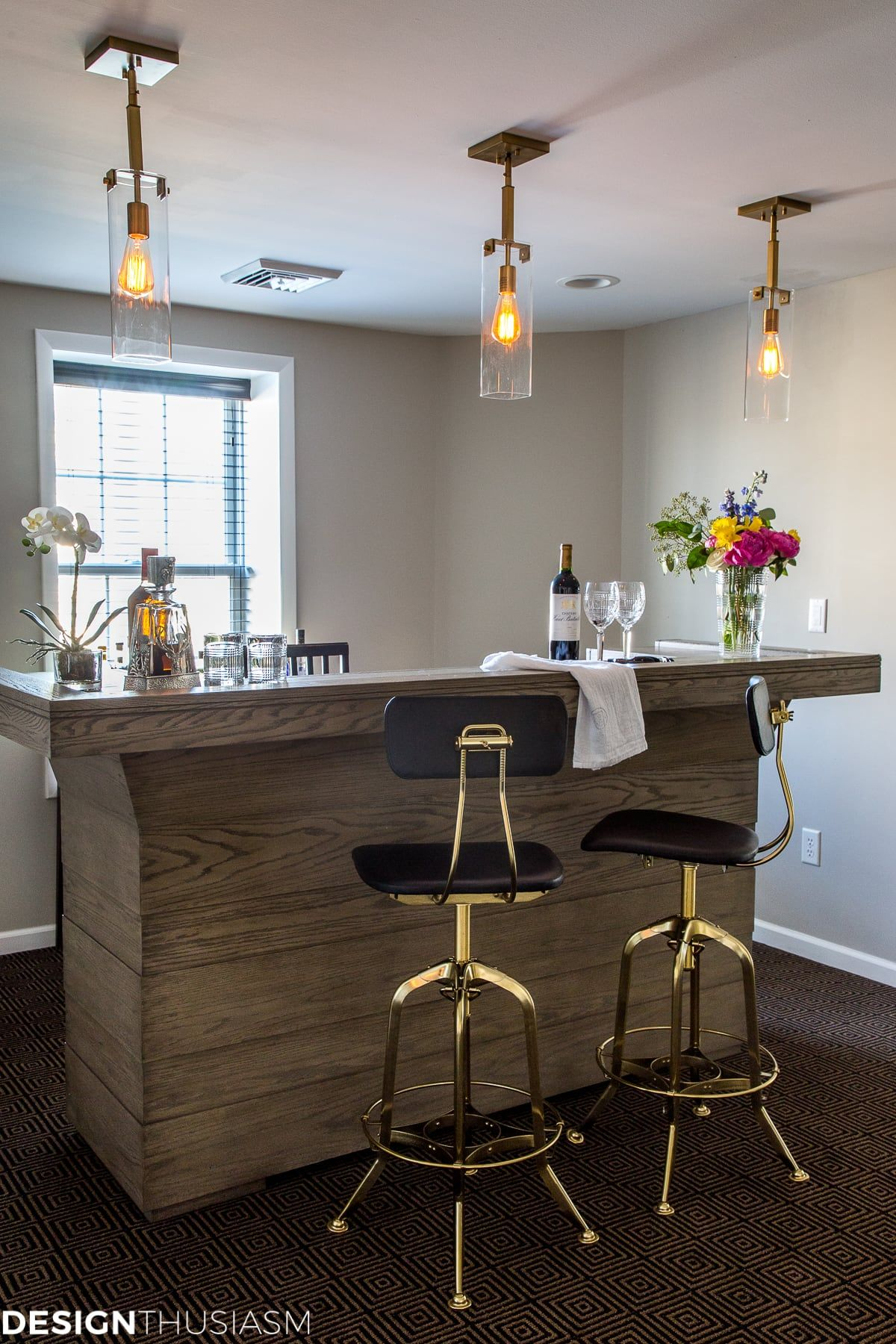 Home Bar Ideas: 6 Steps to an Elegant Basement Bar (With ...