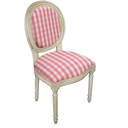 plaid dinning chairs   ... Side Chair, Set Of Two 123creations Side ...