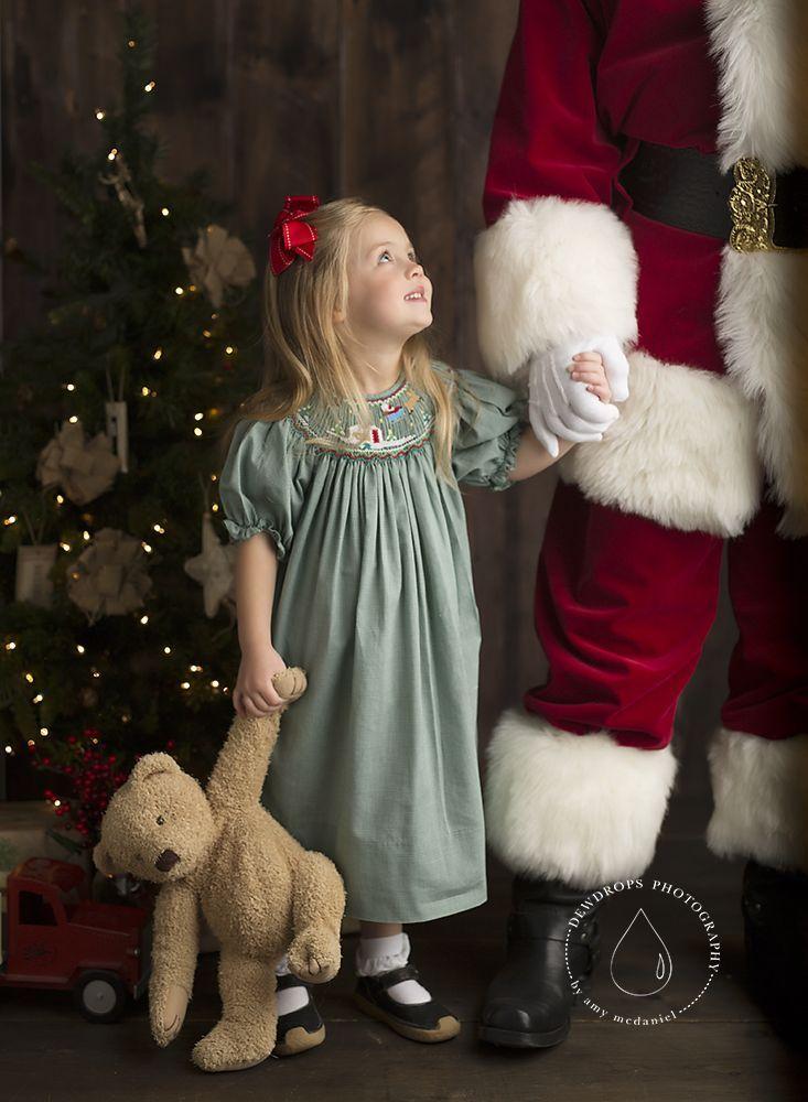 Waiting for santa night before christmas