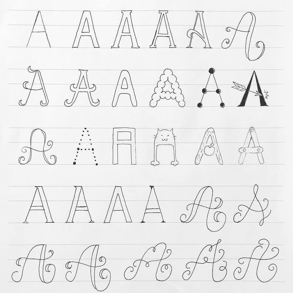 Welcome to another round of featuring your lettering works