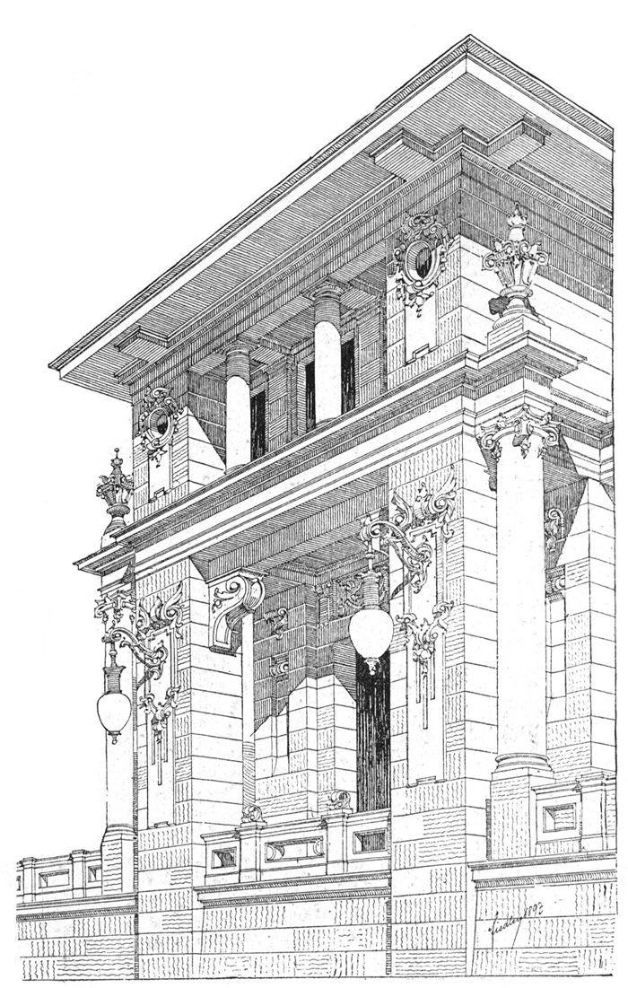 Ladislaus Fiedler.   Architektur zeichnungen, Architektur ...