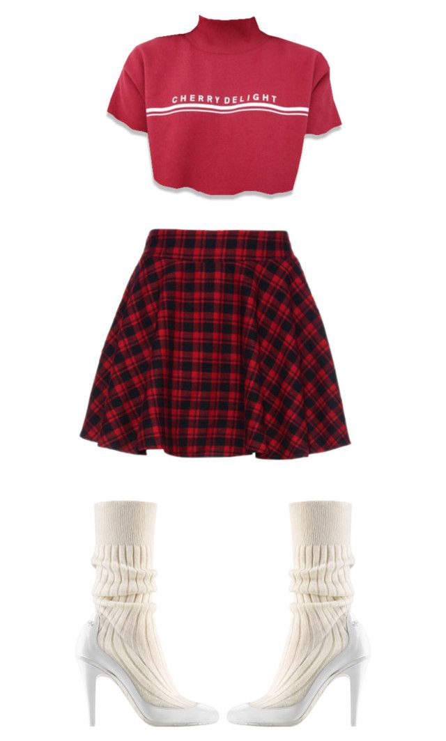 """School Gurl"" by shanithestylist ❤ liked on Polyvore"