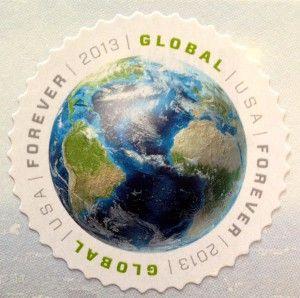 2013 Usa Global Forever Stamp Postage Stamp Postage