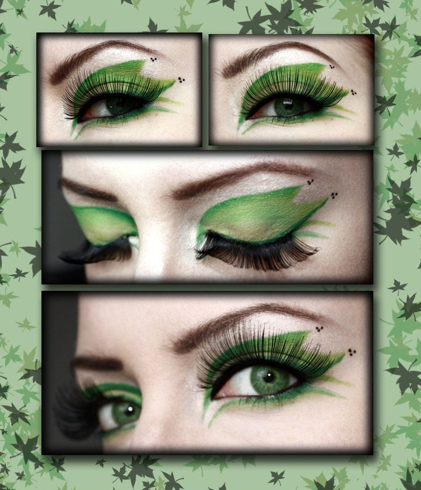 poison ivy makeup (or everyday if it looks good no me)!