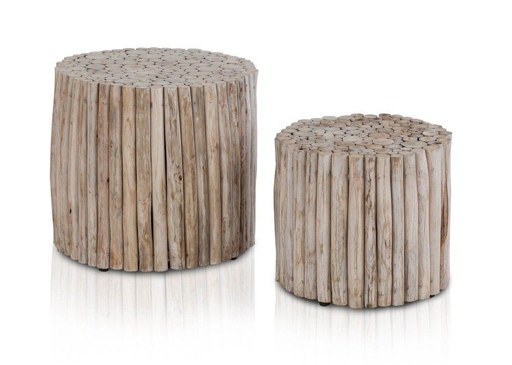 Tischset aus Teak Astwerk Massivholz Natur rund 21255. Buy now at https://www.moebel-wohnbar.de/tischset-aus-teak-astwerk-massivholz-natur-rund-21255.html