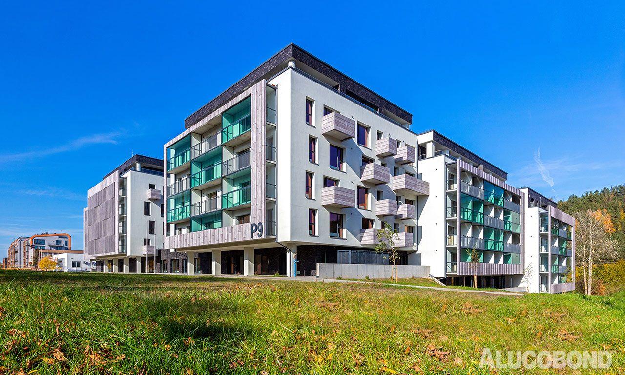 P 9 Paplaujos Apartments Energy Efficient Construction Alucobond Facade
