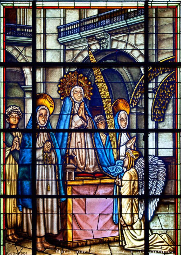 Vidrieras del #MisteridElx en la cúpula de Santa María ( Fotos dé ...