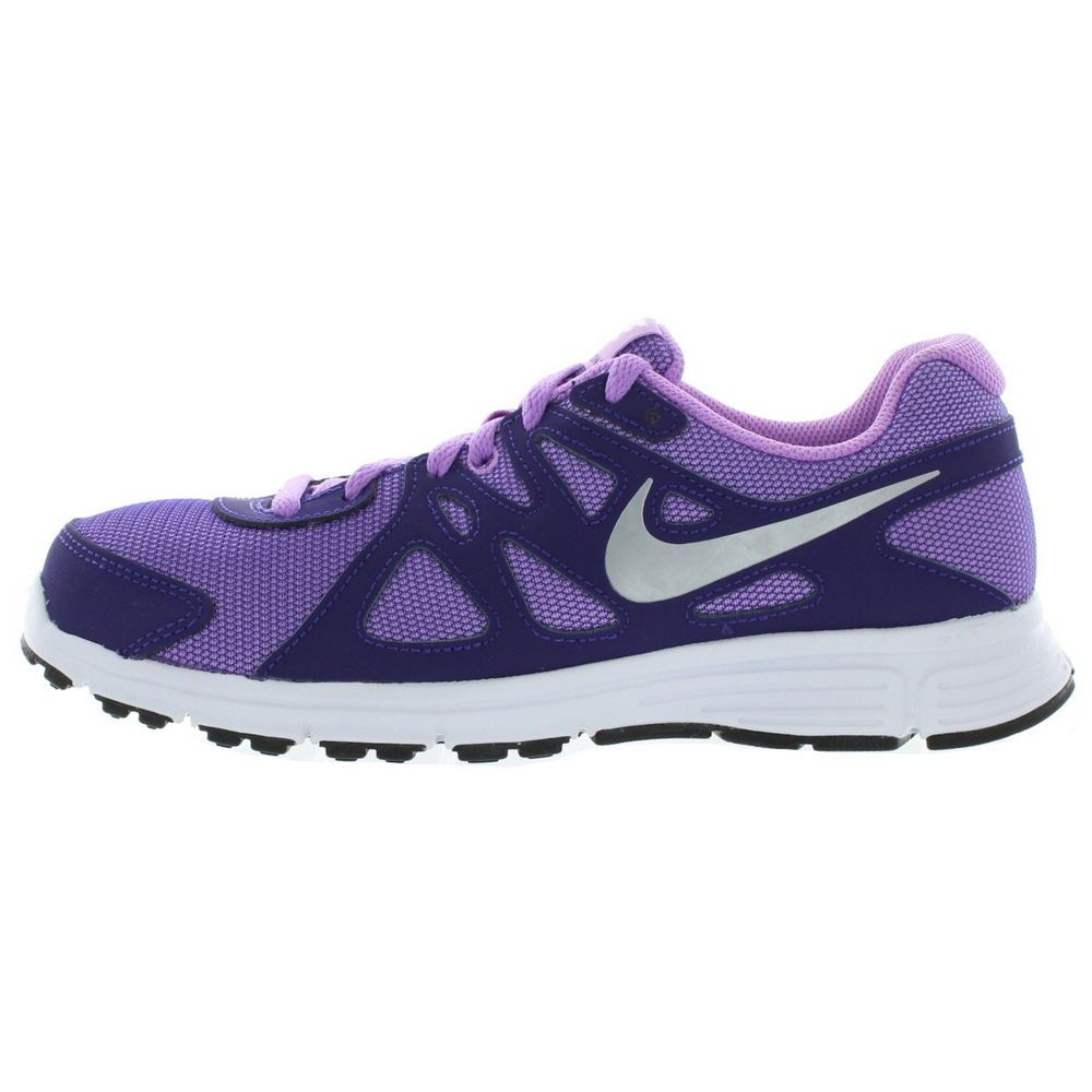 outlet store ad171 6b75c eBay  Sponsored Nike Kids Youth Fuschia Court Purple Revolution 2 GS Shoes  Size 5.5Y Medium