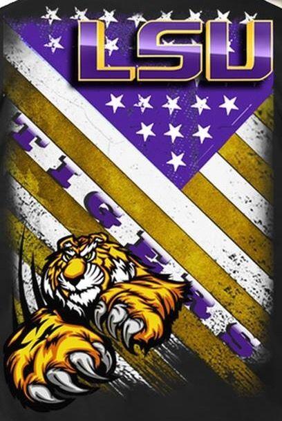Pin By Sharon Pruett On Lsu Lsu Tigers Football Lsu Tigers Art Lsu Baseball
