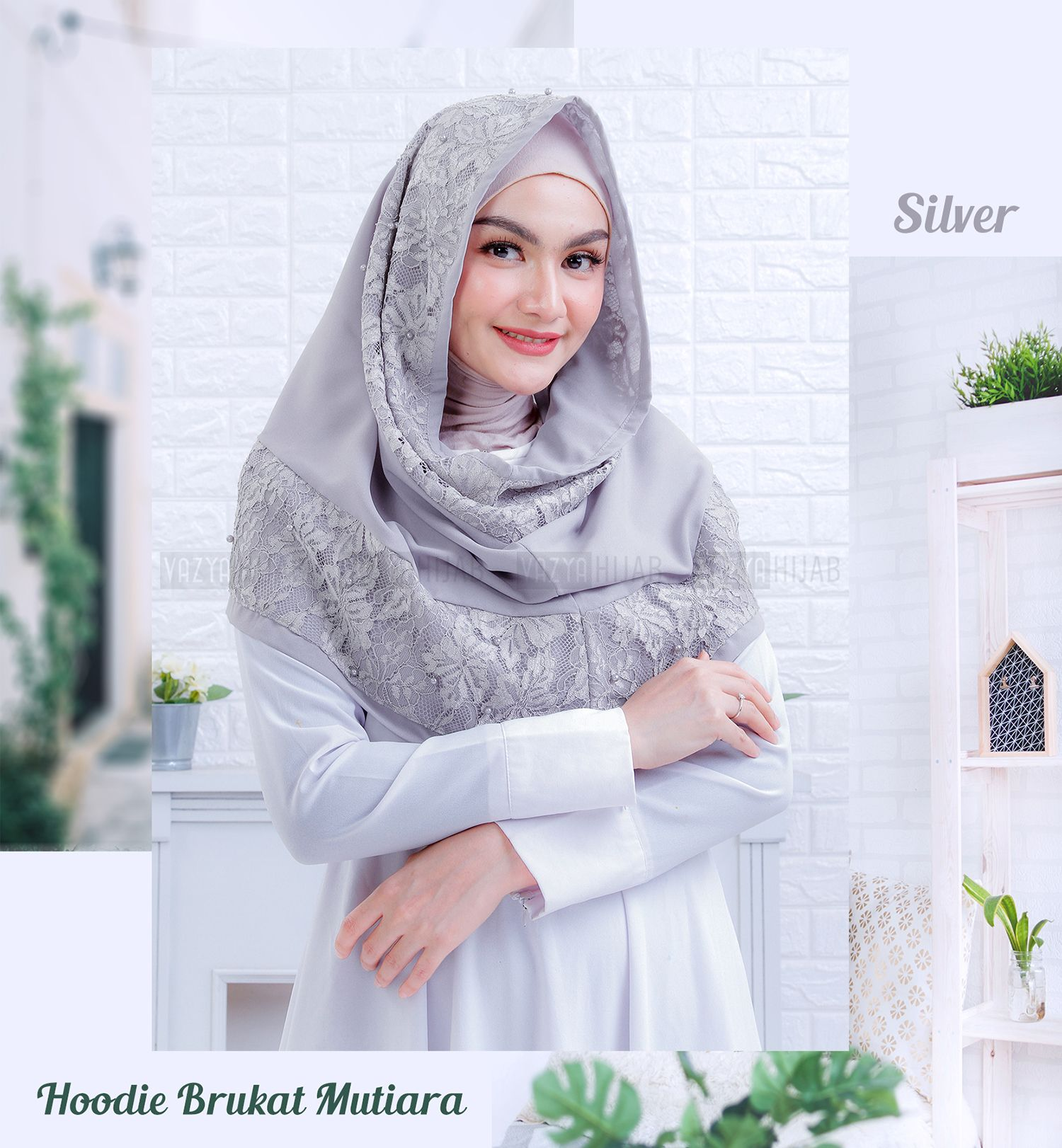 Jilbab Instant Hoodie, Hijab, Kerudung