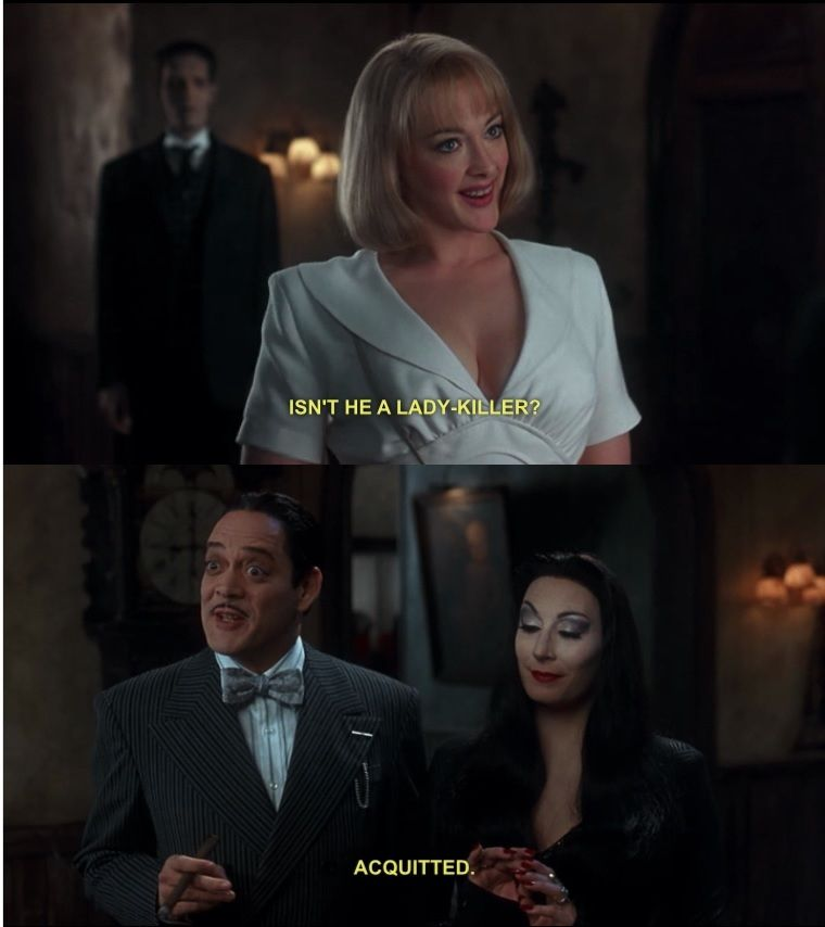 Can we all agree that The Addams Family Values is a