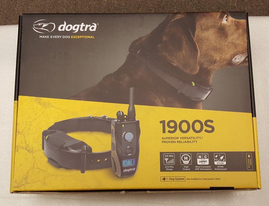 Dogtra 1900s Waterproof Dog Training Collar System 3 4 Mile Range