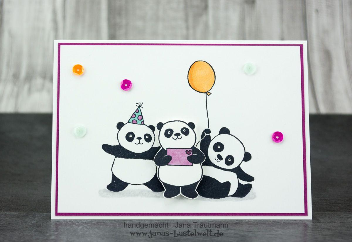 Gutschein Pandas 1 2017 Painted Rocks Pinterest Panda Cards