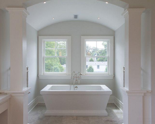 "Bathroom Nook interior design ideas - ""barrel ceiling bath nook""   my dream home"