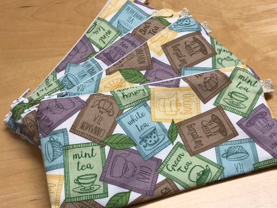 Tea Bag Sinking Fund Envelope - Cuppa Tea Budget Envelope - Shopping for Tea Cash Envelope #cuppatea