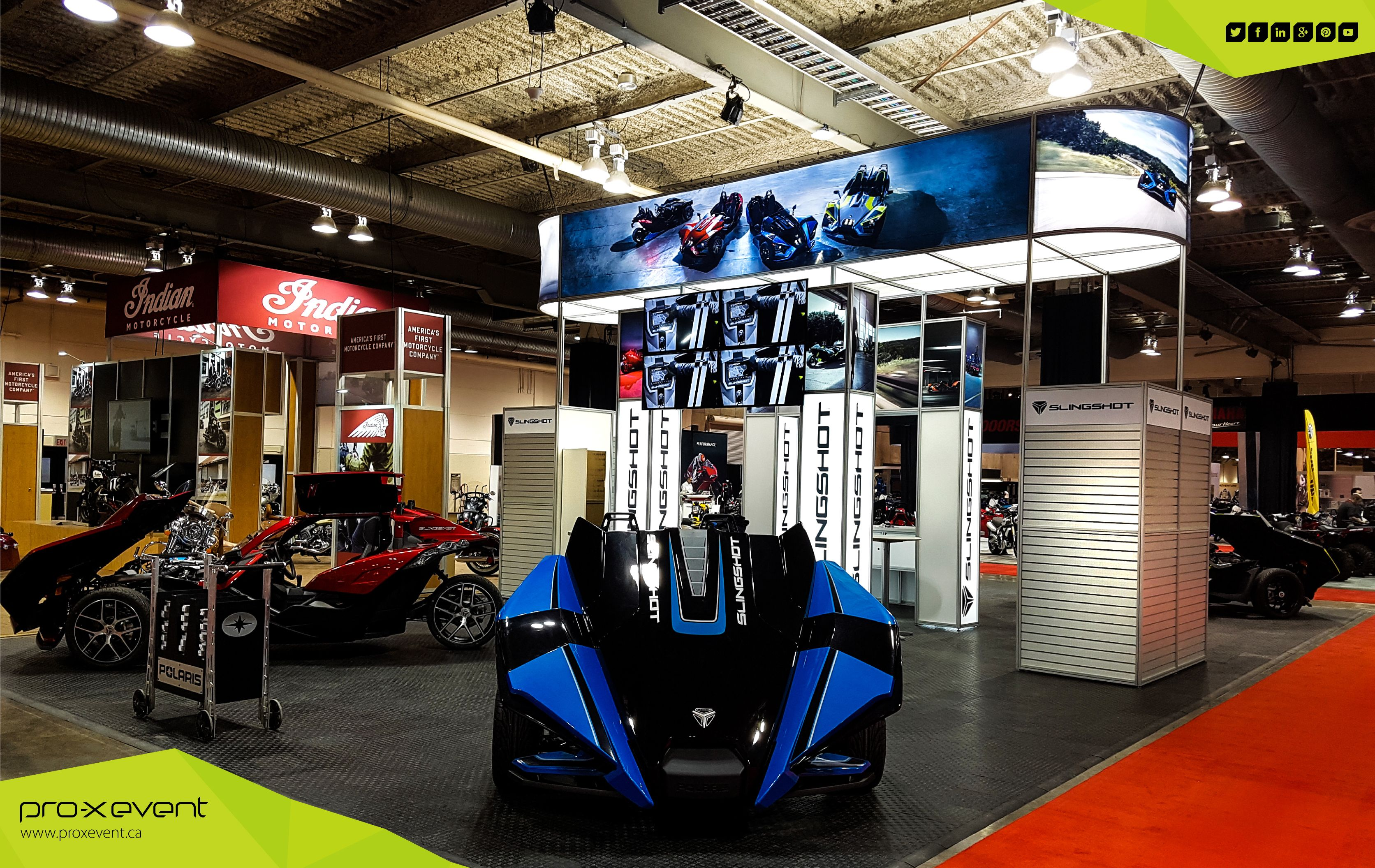 Check out these amazing images of Polaris Industries booth