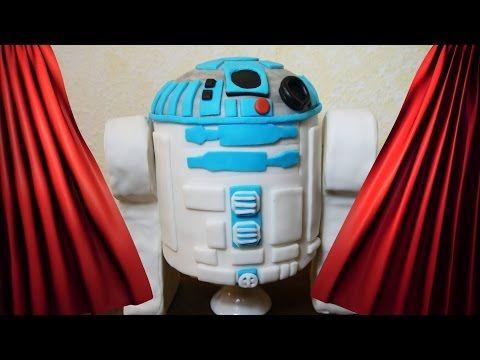 2 Teil Star Wars Motivtorte R2d2 Kuchen Torte Backen Dekorieren