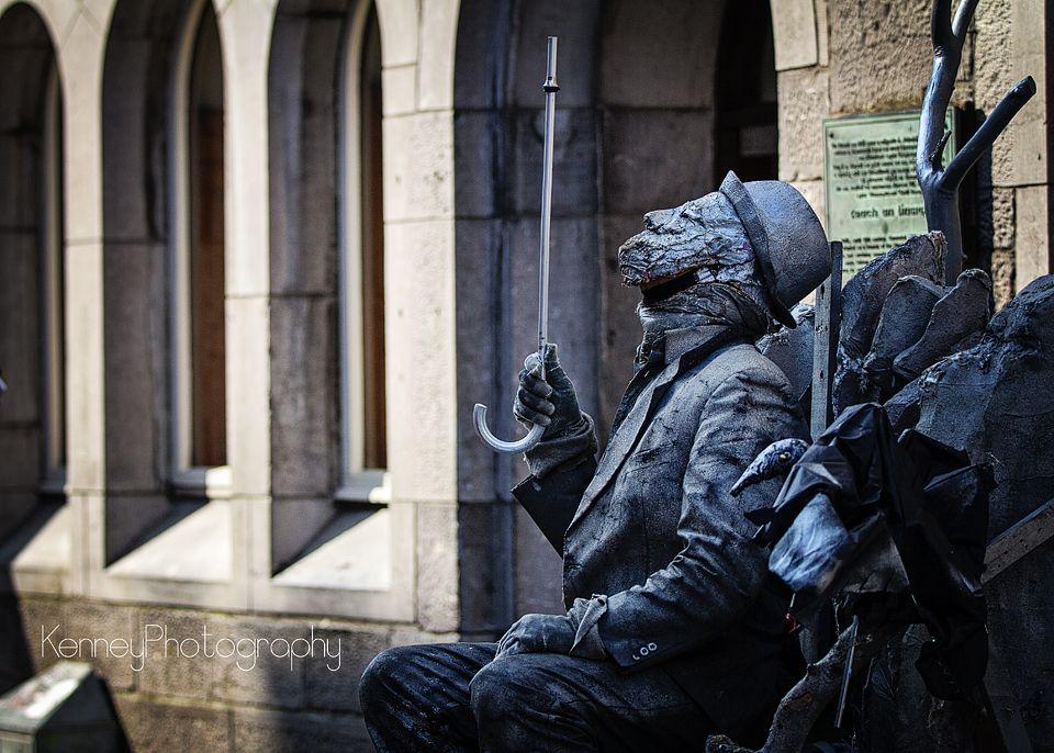 Street Artist, Galway City Ireland