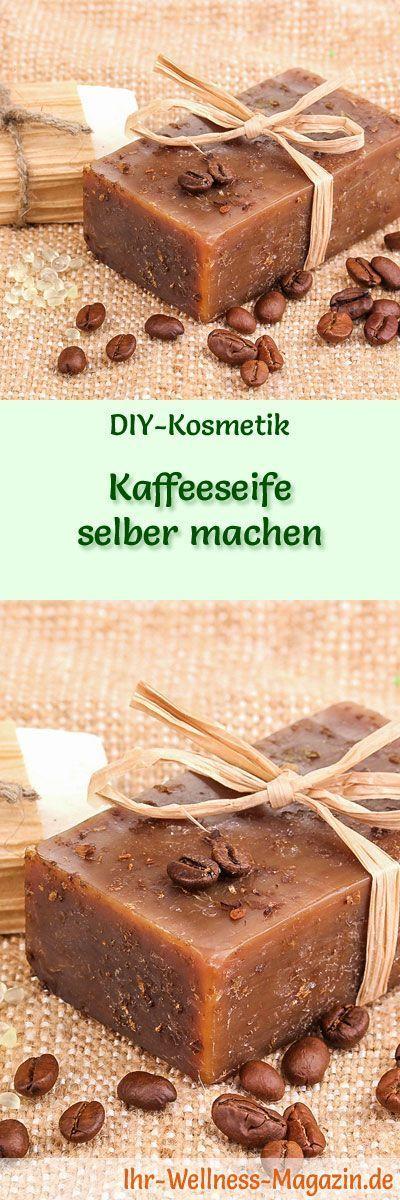 Kaffeeseife zum Selbermachen - Seifen-Rezept & Anleitung