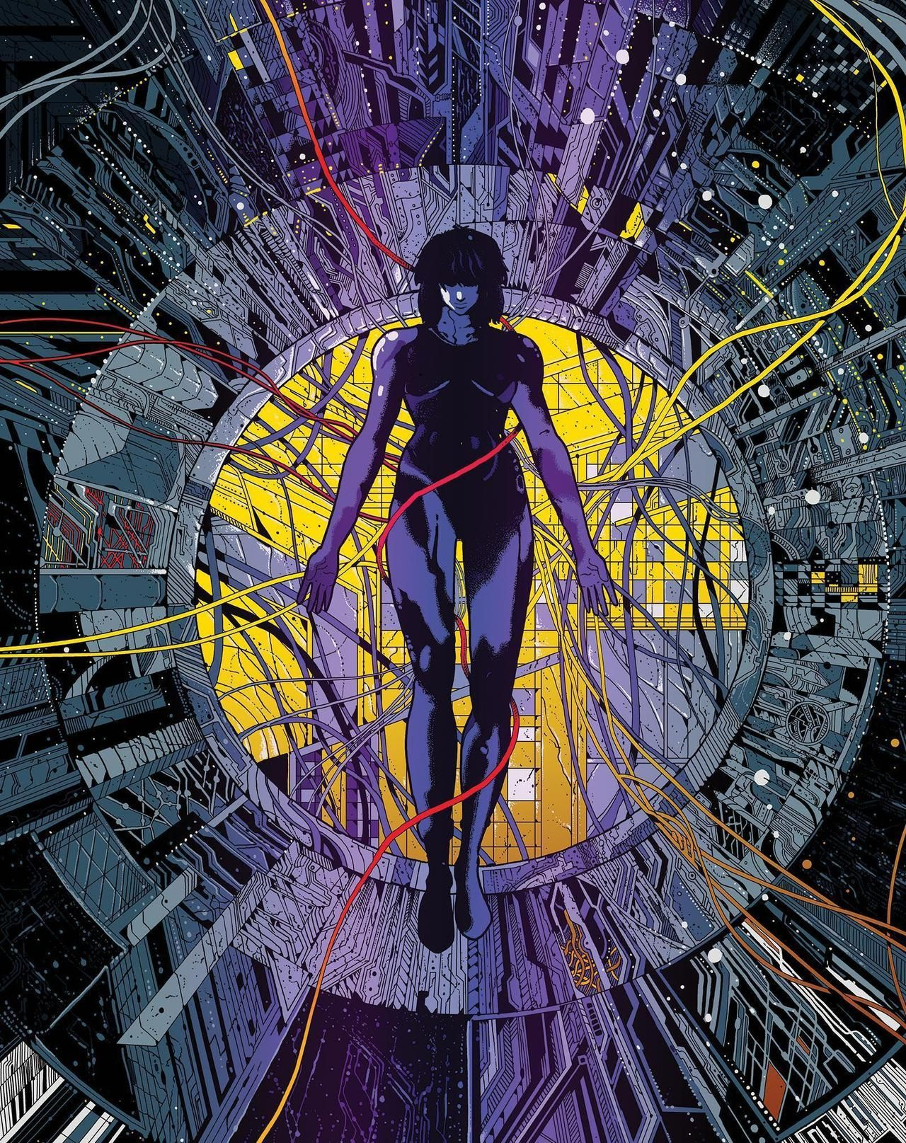 Image Result For Ghost In The Shell Original Art Ghost In The Shell Anime Ghost Shell Art