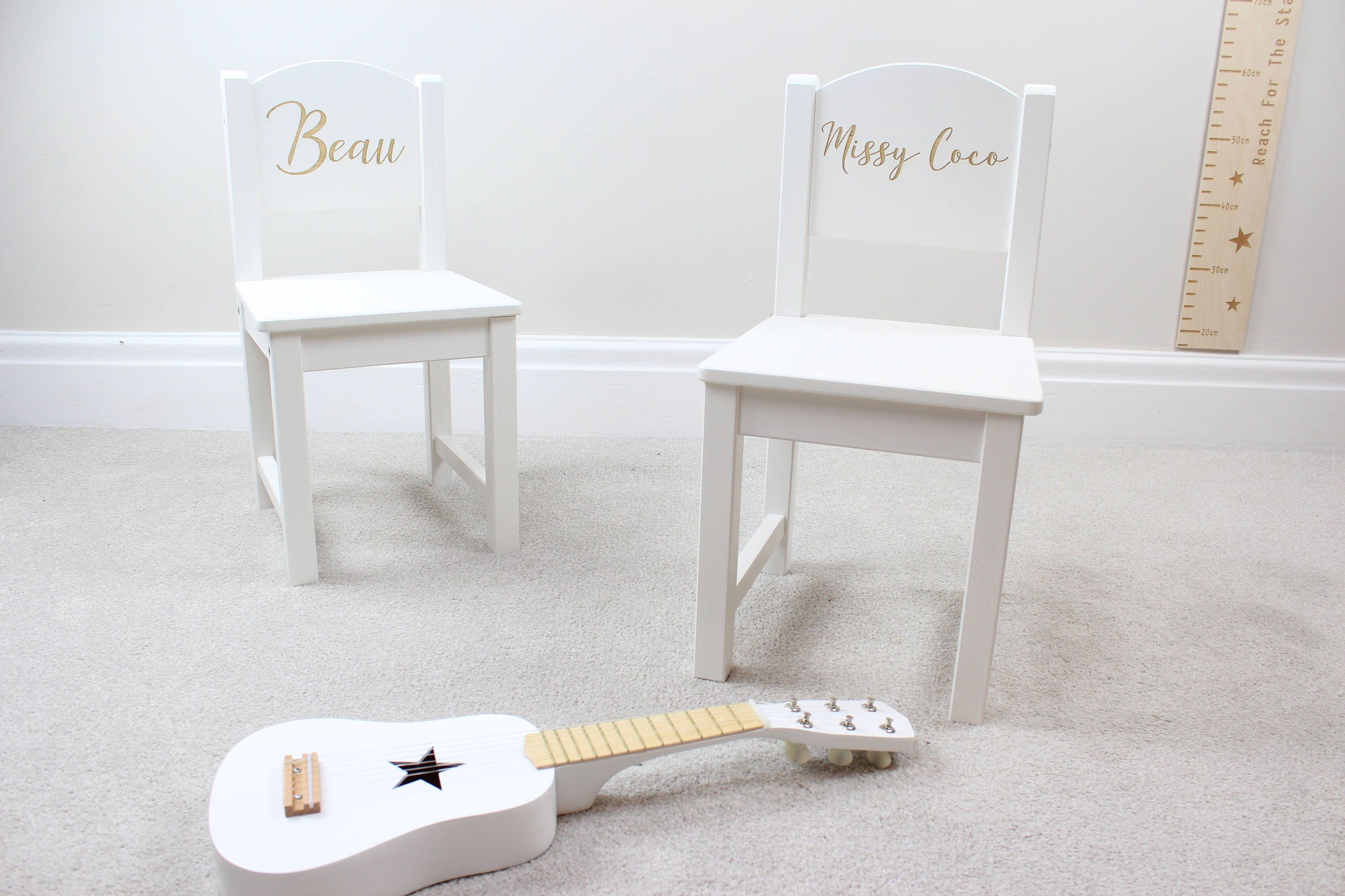 Personalised Chair Personalised Kids Chair White Chair Childs Chair Childrens Stool Nursery Funiture Reading Chair Chair Personalized Kids Chair Personalized Chairs Kids Chairs