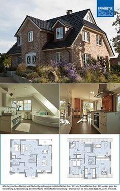Haus Denker-Das stilvolle, flexible Familienreich. – BAUMEISTER-HAUS®-Kooperation e.V.   – Grundrisse