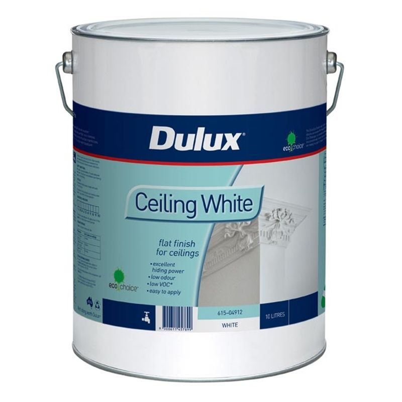 ceiling white paintDulux 10L White Ceiling Paint  Pay painter to do ceiling  New