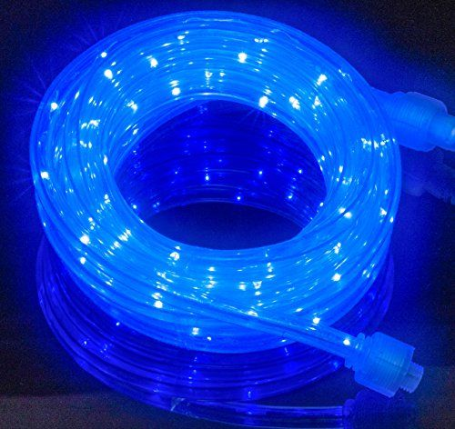 Izzy Creation 18ft Blue Led Flexible Rope Light Kit Indoor Outdoor Lighting Home Garden Patio Sh Indoor Outdoor Lighting Led Rope Lights Outdoor Holiday Decor