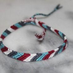 design de qualité f1be8 b2e5f Bracelet brésilien pour jeune homme en coton dmc taille 20cm ...