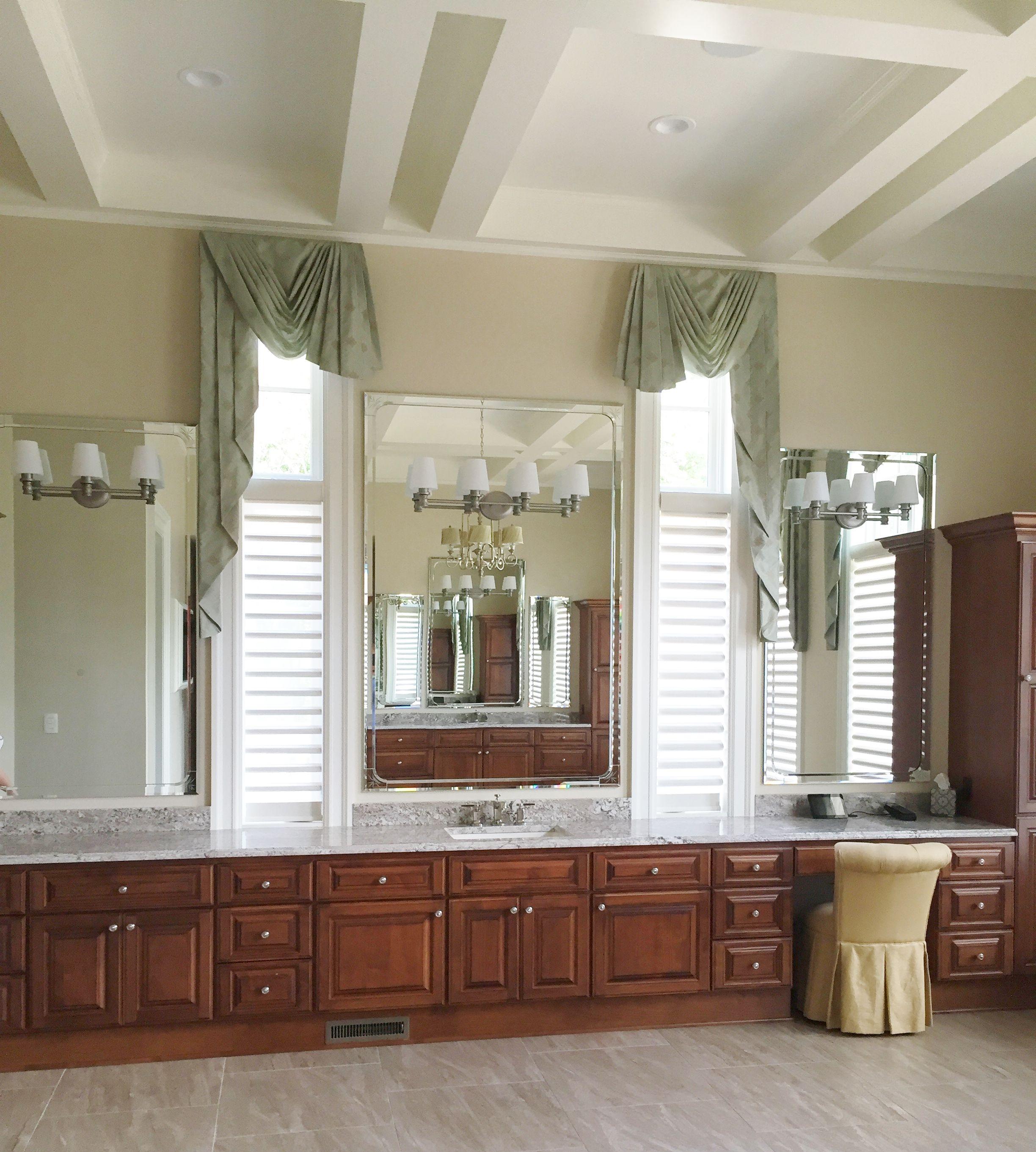 custom bathroom vanity mirrors with bevel overlay frame on custom bathroom vanity mirrors id=58612