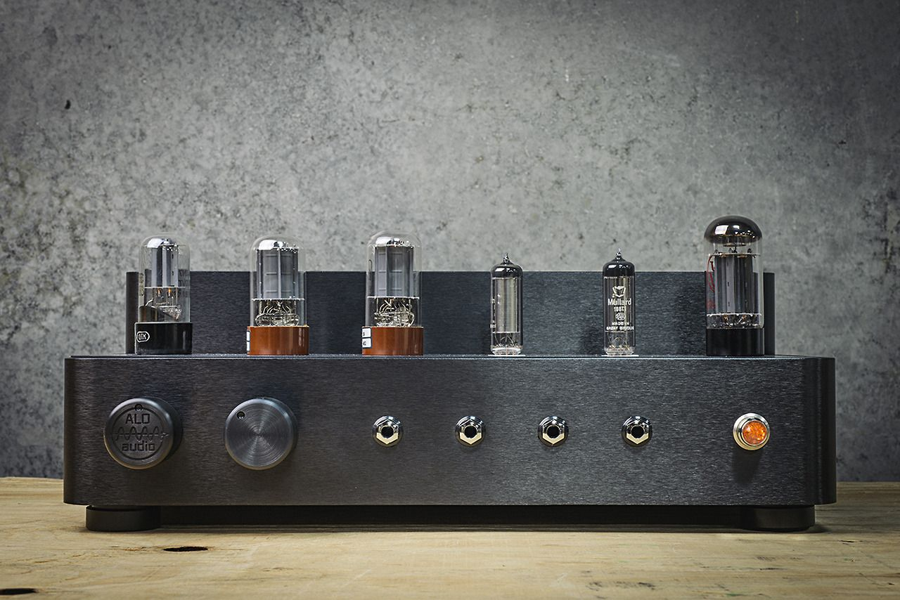Studio Six. A new Single-Ended Triode reference headphone amplifier from ALO…
