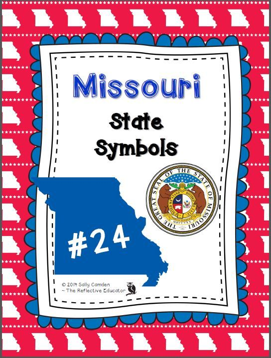 Cover State Symbols Celebrate Missouri Day On The 3rd Wednesday